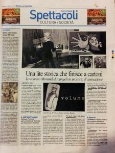 Volume articolo Il Carlino